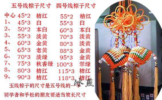 中国结论坛 三角粽编图  立体绳结教程与交流区 10011614483363eb9c76d0f2c9