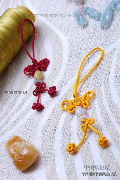 中国结论坛 中国结手机链-谢海斌作品(组图40张)  作品展示 10011618563e8f1c3133635a6b