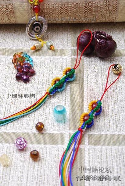 中国结论坛 中国结手机链-谢海斌作品(组图40张)  作品展示 1001161856e74b87df4f76ac40