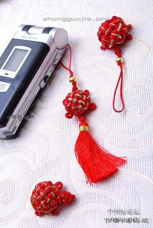 中国结论坛 中国结手机链-谢海斌作品(组图40张)  作品展示 1001161857a0cb7ab18bbf1182