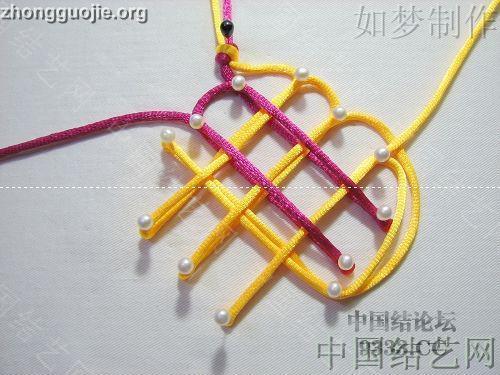 中国结论坛 三回复翼盘长编法教程  基本结-新手入门必看 100116233011437f54d7bb0011