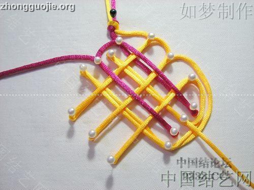 中国结论坛 三回复翼盘长编法教程  基本结-新手入门必看 1001162330fba7c4e59d77ca09