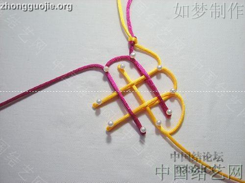 中国结论坛 盘长结的编法图解(附视频教程) 分级达标 基本结-新手入门必看 10011623336555c023b946c850