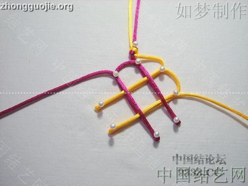 中国结论坛 盘长结的编法图解(附视频教程) 分级达标 基本结-新手入门必看 1001162333666482adb185cfaf