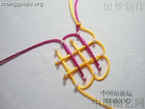 中国结论坛 盘长结的编法图解(附视频教程) 分级达标 基本结-新手入门必看 1001162333dacebe8a36d9e0f8