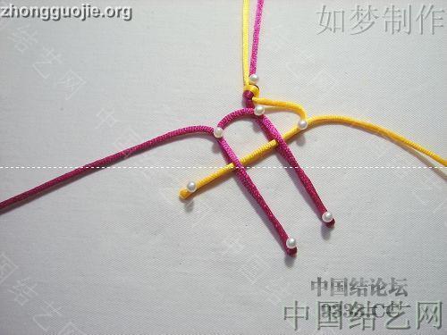 中国结论坛 盘长结的编法图解(附视频教程) 分级达标 基本结-新手入门必看 1001162333e358e3cfe4a7c325