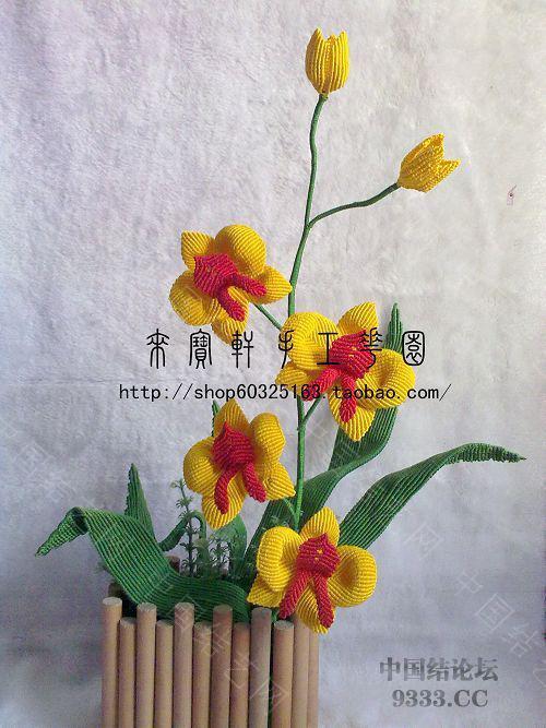 中国结论坛 我的花花世界--蝴蝶兰  立体绳结教程与交流区 1001230154539fd335ef644683