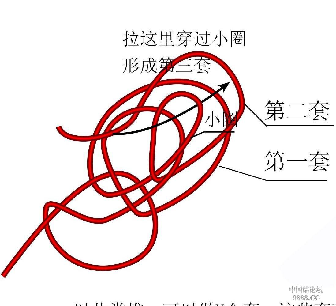 中国结论坛 原创新结---花边结教程(第三页有花边团锦徒手教程)  基本结-新手入门必看 10031810456757776379855e79