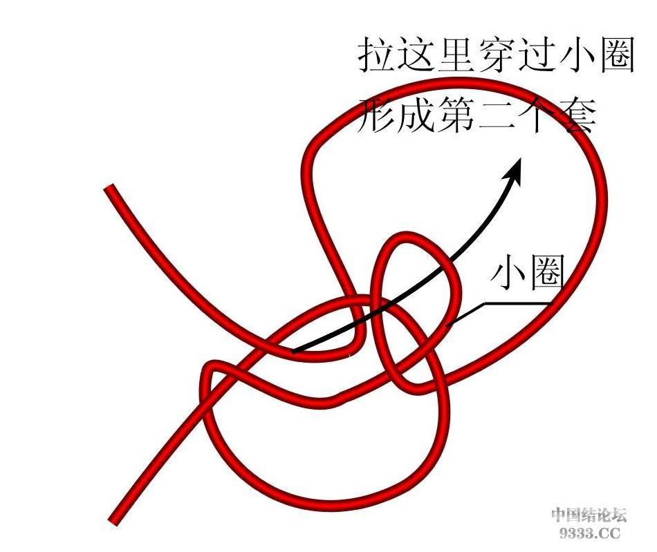 中国结论坛 原创新结---花边结教程(第三页有花边团锦徒手教程)  基本结-新手入门必看 1003181045a909b8fe068caab4