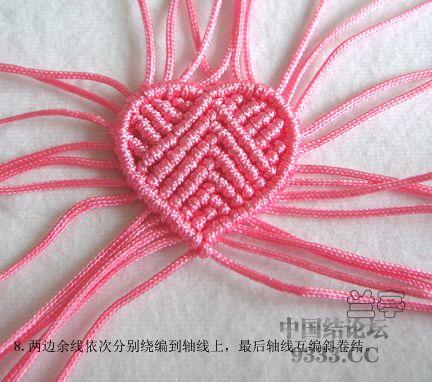 中国结论坛 心形戒指走线图来了  兰亭结艺 1004291433f1efe843de1b4ceb