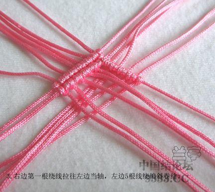 中国结论坛 心形戒指走线图来了  兰亭结艺 10042914399c22c872be95e90e