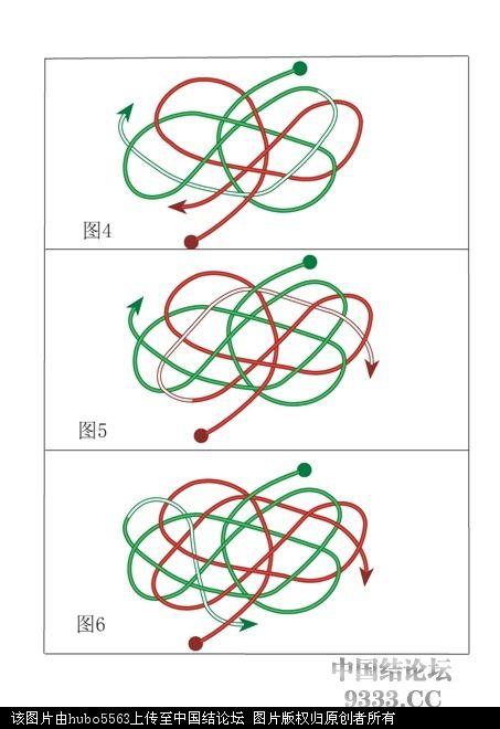 中国结论坛 原创新结---大元宝结走线图  基本结-新手入门必看 1005152103679340ff73916db9