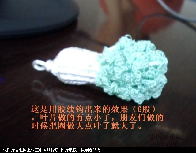 中国结论坛 5#线斜卷结白菜过程图  立体绳结教程与交流区 100601165924ed708d384c1902