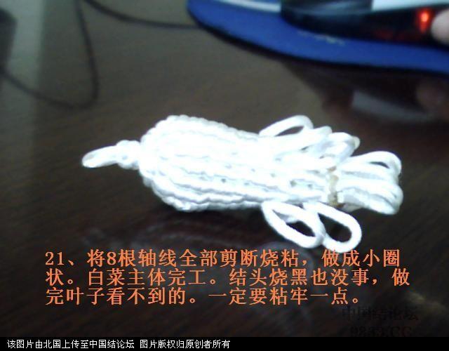 中国结论坛 5#线斜卷结白菜过程图  立体绳结教程与交流区 10060116596f16b0e17888bac3