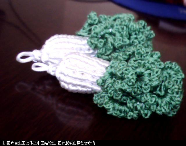 中国结论坛 5#线斜卷结白菜过程图  立体绳结教程与交流区 1006011659ce89992ec20209c3