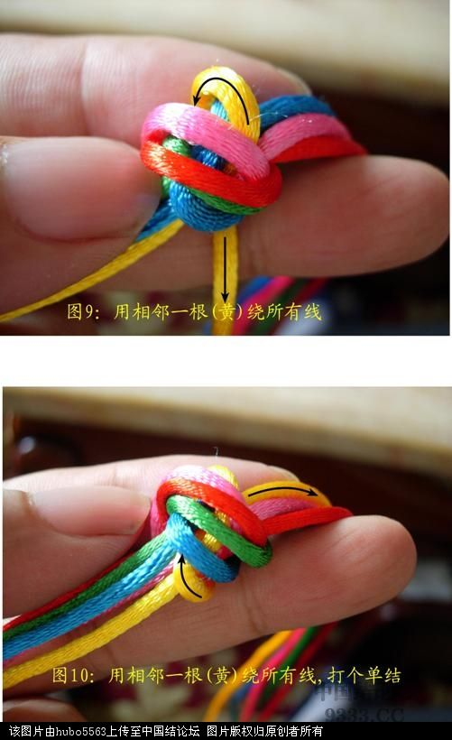 中国结论坛 原创新结---五线双联结徒手教程  基本结-新手入门必看 1006041916f82c6cacc4f625d2