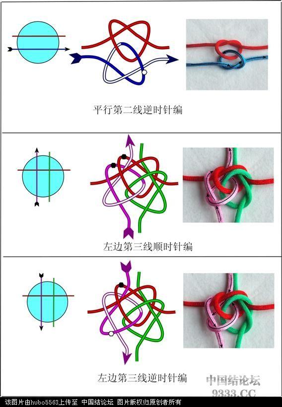 中国结论坛 四线冰花结教程---连体冰花作品的基础  冰花结(华瑶结)的教程与讨论区 10062809105d32a392e5ca86e9