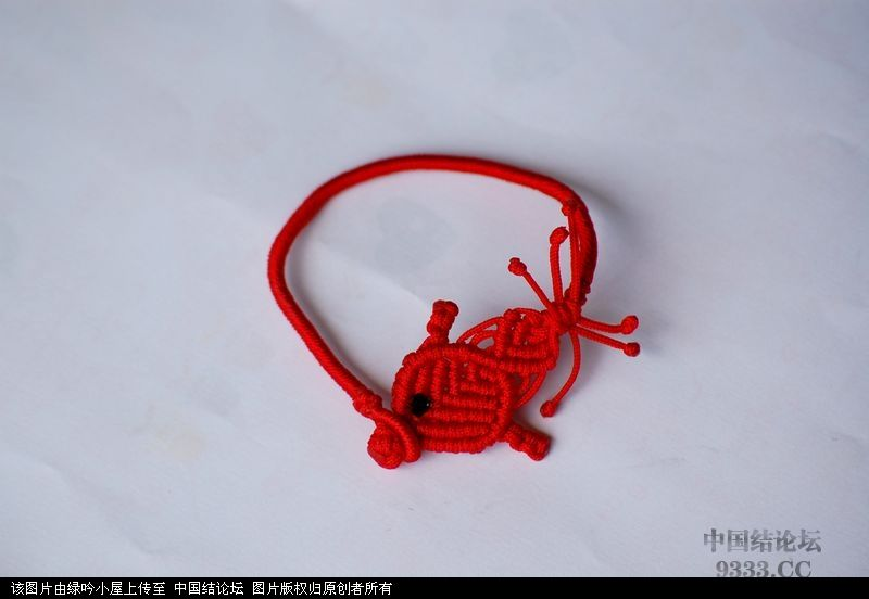 中国结论坛 原创小鱼手链教程  图文教程区 10070311370fab458d1e5baff3