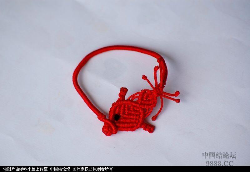 中国结论坛 原创小鱼手链教程  图文教程区 1007031137fb90c12205f482fc