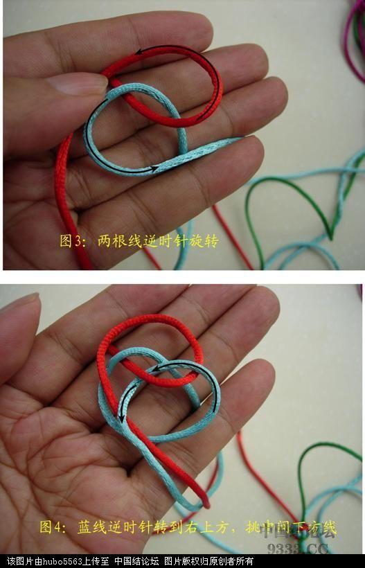 中国结论坛 原创新结---六瓣长纽扣结徒手教程  图文教程区 1007151854f6d622a111cc33f8