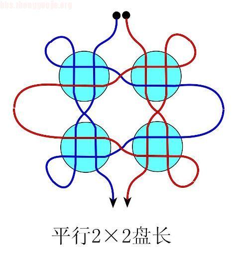 中国结论坛 平行22冰花盘长(一)徒手教程  冰花结(华瑶结)的教程与讨论区 10072915442be9ad391b2ab44f