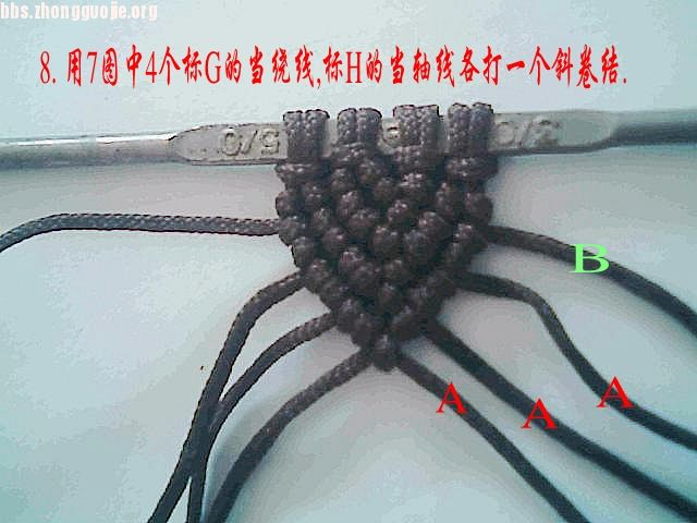 中国结论坛 手表带的编法教程  图文教程区 10091509150bae4c45230ca32e