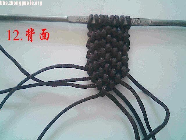 中国结论坛 手表带的编法教程  图文教程区 10091509153864688391c3217e