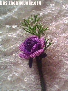 中国结论坛 我的玫瑰胸针  作品展示 10091921059498c909e9453864