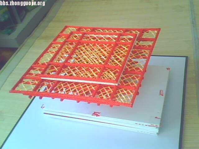 中国结论坛 我的中国馆过程图  立体绳结教程与交流区 100921225875897ac3f7ddce7f