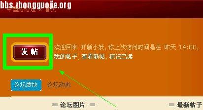 中国结论坛 教大家如何发帖  论坛使用帮助 101026133686f166b0751e8c61