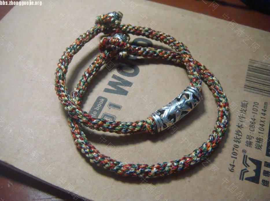 中国结论坛 手链和手链项链两用长链  作品展示 10110721166c985e9562ebaf65