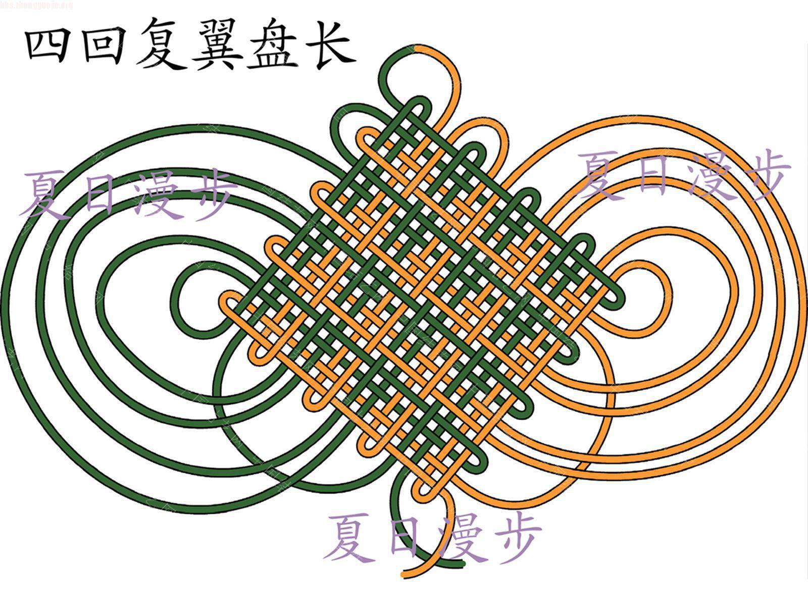 中国结论坛 四回复翼盘长结  基本结-新手入门必看 101215125755f119f631111976