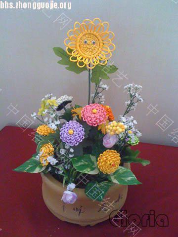 中国结论坛 海外中国绳结艺术联谊会迎新年作品联展  作品展示 10122606098be152be42ba849f