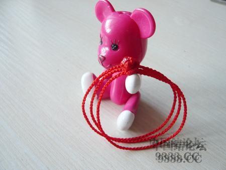 中国结论坛 三生绳三层红绳手链的编法(多图) 手链,一根红绳怎么编手链,各种寓意好的绳结手链,二根绳子各种编法图解 图文教程区 46ef80cfaadd3d1565a3b6021e2bdcc225