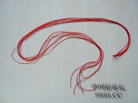 中国结论坛 三生绳三层红绳手链的编法(多图) 手链,一根红绳怎么编手链,各种寓意好的绳结手链,二根绳子各种编法图解 图文教程区 46ef80cfaadd3d1565a3b6021e2bdcc26