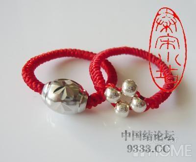 中国结论坛 红绳转运珠戒指:金刚结篇与平结篇 编戒指步骤图,一根绳子编法大全简单,一根红绳怎么编戒指,转运珠最简单的编发 图文教程区 4b506c44fbb72c5fd4daec7470f0f5b30