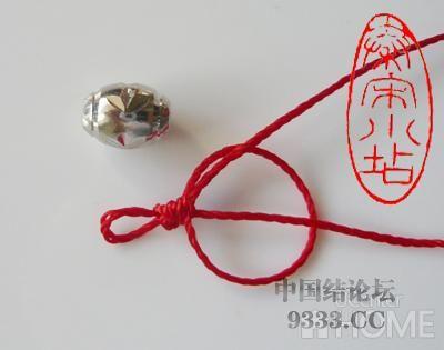 中国结论坛 红绳转运珠戒指:金刚结篇与平结篇 编戒指步骤图,一根绳子编法大全简单,一根红绳怎么编戒指,转运珠最简单的编发 图文教程区 4b506c44fbb72c5fd4daec7470f0f5b32