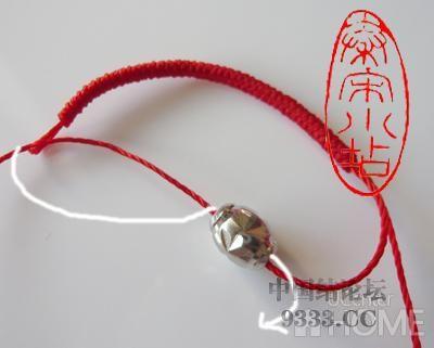 中国结论坛 红绳转运珠戒指:金刚结篇与平结篇 编戒指步骤图,一根绳子编法大全简单,一根红绳怎么编戒指,转运珠最简单的编发 图文教程区 4b506c44fbb72c5fd4daec7470f0f5b35