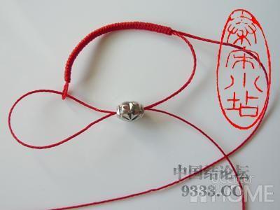 中国结论坛 红绳转运珠戒指:金刚结篇与平结篇 编戒指步骤图,一根绳子编法大全简单,一根红绳怎么编戒指,转运珠最简单的编发 图文教程区 4b506c44fbb72c5fd4daec7470f0f5b36