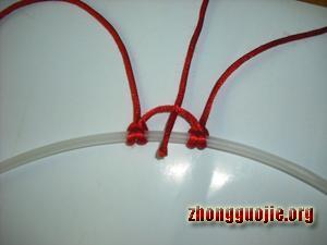 中国结论坛 两种花边雀头结的编法  基本结-新手入门必看 7b1280b9515abf0ee3ba159787d82f916