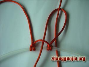 中国结论坛 两种花边雀头结的编法  基本结-新手入门必看 7b1280b9515abf0ee3ba159787d82f917