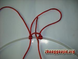 中国结论坛 两种花边雀头结的编法  基本结-新手入门必看 7b1280b9515abf0ee3ba159787d82f918