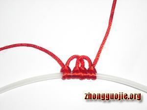 中国结论坛 两种花边雀头结的编法  基本结-新手入门必看 7b1280b9515abf0ee3ba159787d82f919