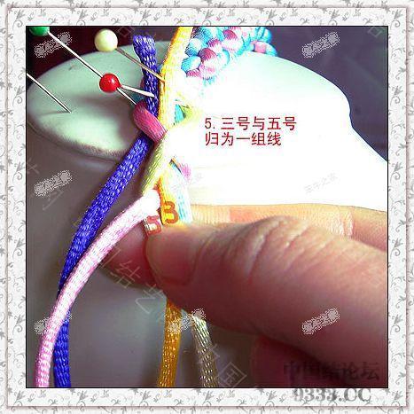 中国结论坛 夹芯四股的编法(第二页长双联结编法) 一根绳子编法大全简单,中国结编法图解大全,方胜结编法步骤图解 图文教程区 de4934c6068166f996b65dee279535cf6