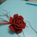 蜡线玫瑰花