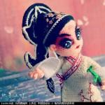 [中国风戏曲娃娃之--生,旦,净,末,丑。]--生(钩针作品)