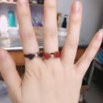 蝴蝶结戒指
