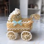 串珠婴儿车