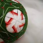 手鞠球,梅花,直径12cm
