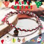 【编绳】圣诞结 手绳视频教学,圣诞节礼物准备好了吗~不用想了就是它!